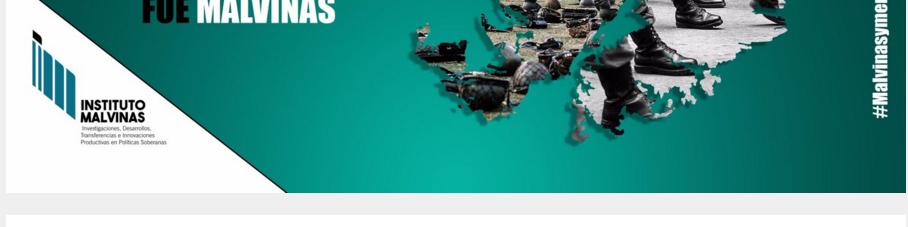 Portal web del Instituto Malvinas