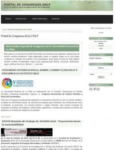 Portal de Congresos de la UNLP