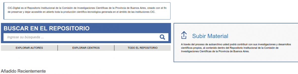 Repositorio CIC DIGITAL