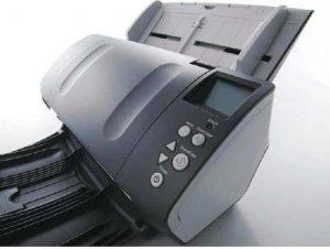 Escáner automático de alimentación contínua